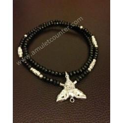 Mai Mongkon Necklace Silver Rahu