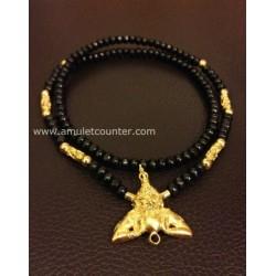 Mai Mongkon Necklace Gold Rahu