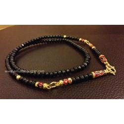 Mai Mongkon Necklace Gold Longya 3 Hooks