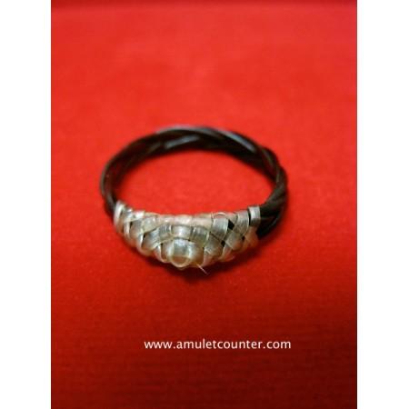 Waen Pirod Hang Chang (Rare Elephant White Tail Ring) BE 2555