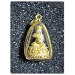 Phra Opakut (Gold) Roon Leua Gin Leua Chai