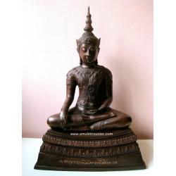 Phra Jakkapat Bucha Neua Thong Luang Rom Dam Manpu BE 2557