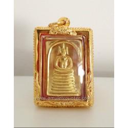 Wat Inn - Phra Somdej Phim Ket Chai Yo Gold - BE 2552