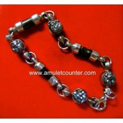 Rae Lek Lai Koh Larn Bracelet with Mai Kalapangha BE 2555