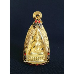 Phra Putha Chinarach Nau Loha Choop Thong (Gold Casing)